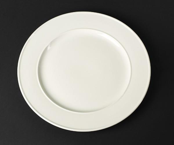 Блюдо с бортом фарфоровое Helios Extra white 305 мм (A7017)