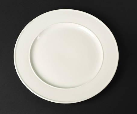 Блюдо с бортом фарфоровое Helios Extra white 305 мм (A7017), фото 2