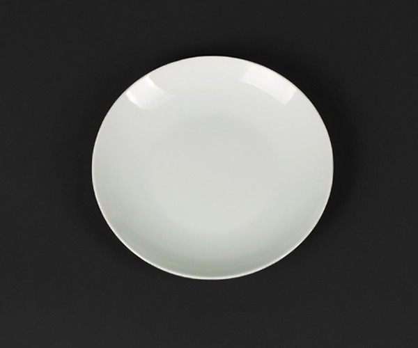 Тарелка подставная белая Helios Extra white 205 мм (A7003)