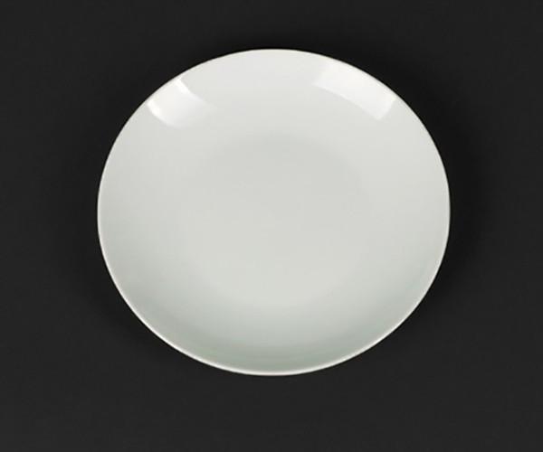 Тарелка подставная фарфоровая Helios Extra white 230 мм (HR-A7004)
