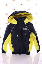Куртка Кант синтепон синий с желтым