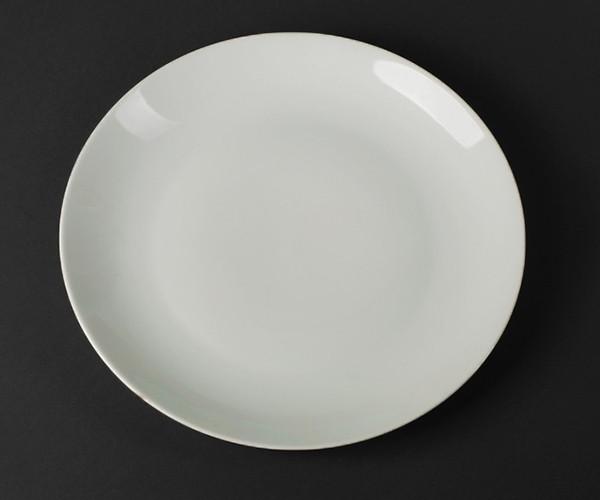 Блюдо круглое фарфоровое Helios Extra white 305 мм (A7006)