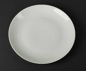 Блюдо круглое фарфоровое Helios Extra white 305 мм (A7006), фото 2