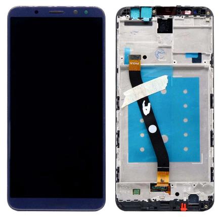 Дисплей (экран) для Huawei Mate 10 Lite RNE-L21 с сенсором (тачскрином) и рамкой синий, фото 2