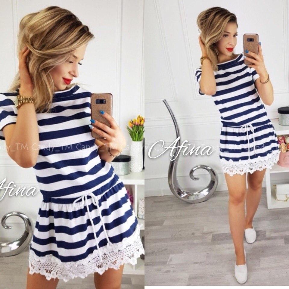 Женское модное платье  АП154 (бат)