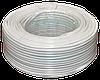 Телефонный кабель 4-х жильный бухта 100 метров белый