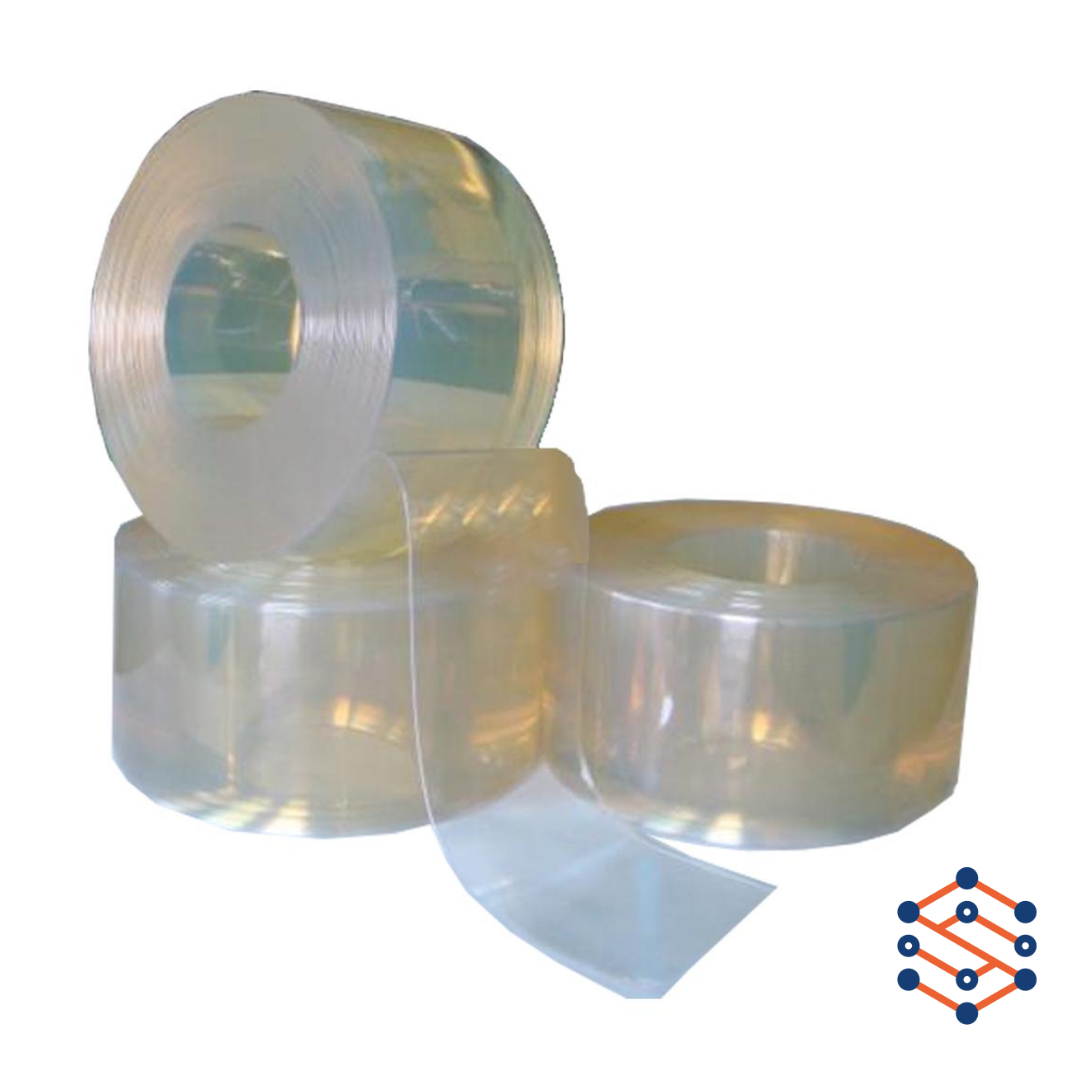 ПВХ лента для термоштор 300х3 мм супер хладостойкая
