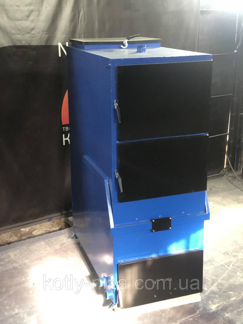 Твердопаливний котел тривалого горіння 100 кВт