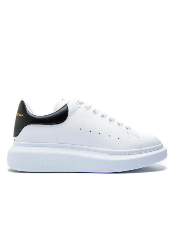 Мужские кроссовки Alexander McQueen Oversized White Black (Реплика ААА+)
