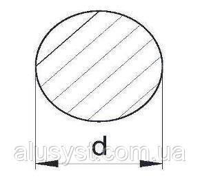 Пруток алюминиевый 12мм - диаметр, анод
