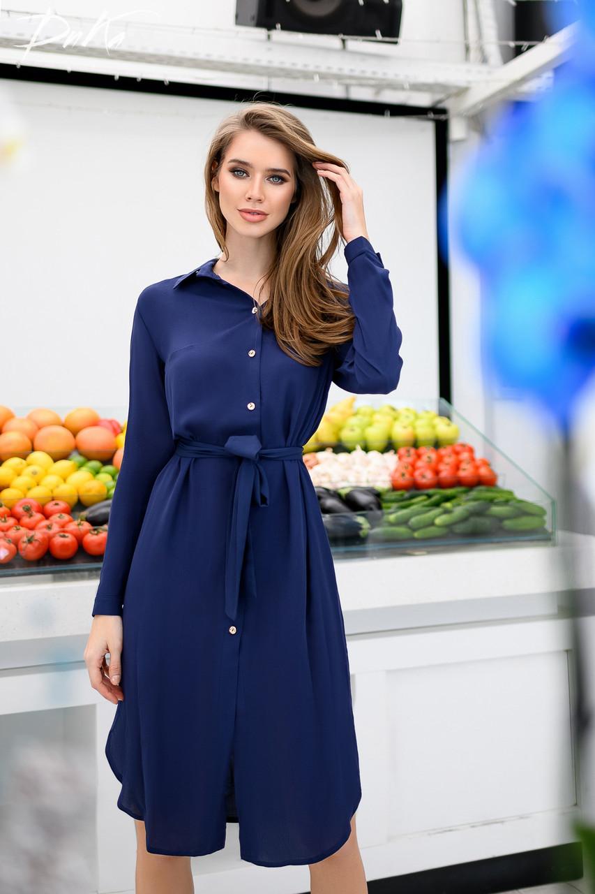 Платье- рубашка женская 4128дг