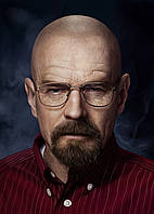 Картина GeekLand Breaking Bad Во все тяжкие уолтер уайт 40х60см BB 09.007