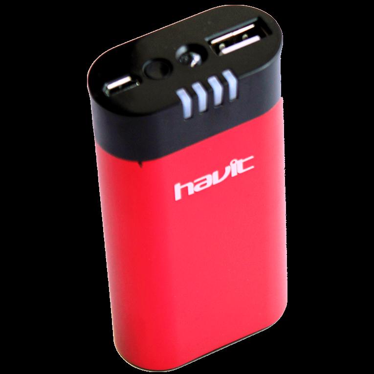 Портативное зарядное устройство Havit HV-PB830, 4400 mAh Red