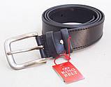 Мужской кожаный ремень King Belt , фото 4