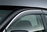 HIC Дефлектор окна Mazda 6 2007-2012 Sedan С Хром Молдингом