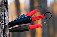 Ножи метательные Дартс 2 (3в1), с тканевым чехлом в комплекте