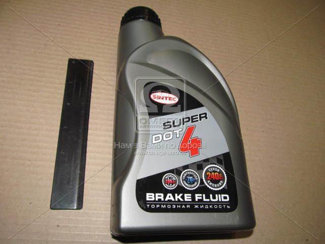 Тормозная жидкость Sintec Super DOT4 (910г) IVECO