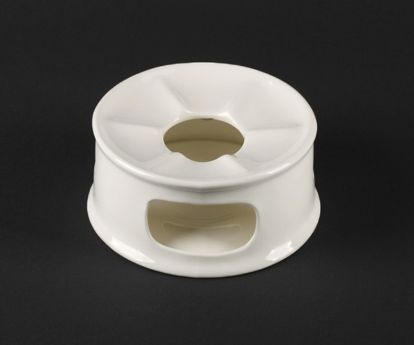 "Подставка фарфоровая для подогрева чайника 5""/130 мм Helios Extra white (A7059)"