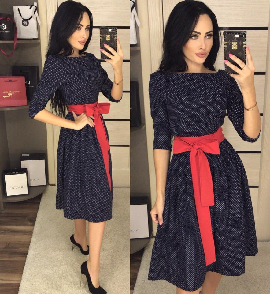 Женское стильное платье  АП208