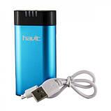 Портативное зарядное устройство Havit HV-PB830, 4400 mAh Blue, фото 2