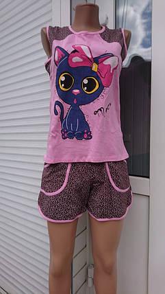Майка + шорты с карманами, фото 2