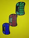Беспроводная русская клавиатура с тачпадом UKC i8 (Green) 2.4G LED подсветка, фото 6