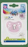 Пустышка силиконовая ортодонтическая 18+ м-цев Little Cutie, фото 3
