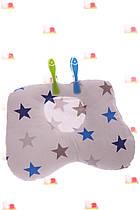 Подушка со звездами 30*20 см