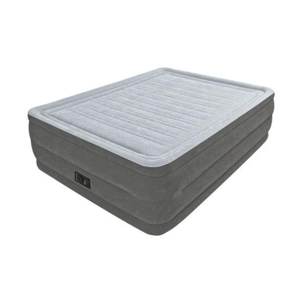 Надувна двоспальне ліжко Intex 64414 Comfort Plush 203х152х46см