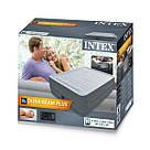 Надувна двоспальне ліжко Intex 64414 Comfort Plush 203х152х46см, фото 6