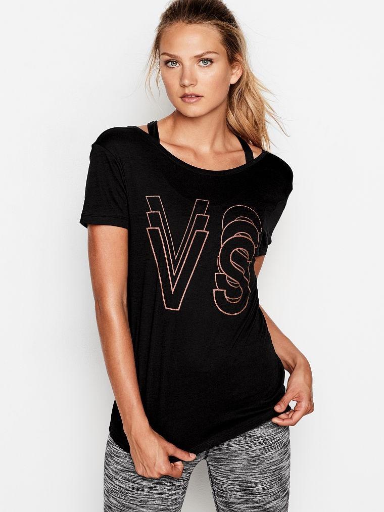 Спортивная футболка от Victoria's Secret (Виктории Сикрет)