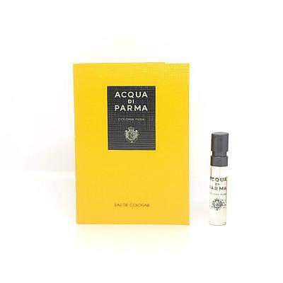 Нішева парфумерія унісекс ACQUA DI PARMA Colonia Pura 1,5 мл пробник, свіжий цитрусовий фужерний аромат