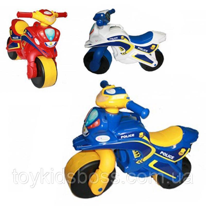 Мотоцикл музыкальный Полиция