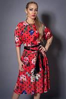 Нарядное женское летнее платье