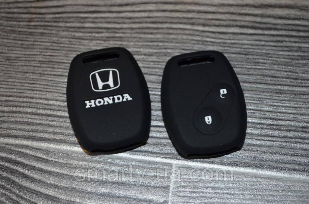 Силиконовый чехол на две кнопки Honda