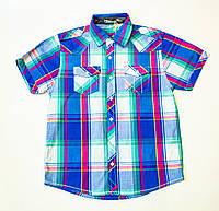 Стильная рубашка, шведка  для мальчика рост 134,152,164-170 cм, фото 1