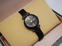 Часы женские Geneva на магнитной застежке Black