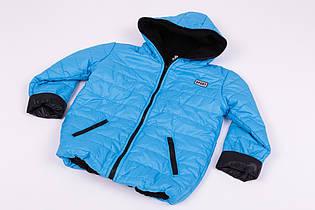 Куртка Спорт флис бирюзовый
