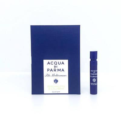 ПРОБНИК парфуми унісекс ACQUA DI PARMA Blue Mediterraneo Bergamotto di Calabria 1,2 мл деревне цитрусовий аромат