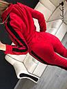 Женский спортивный костюм камуфляж на молнии с черными лампасами 8so594, фото 2