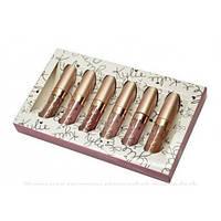 Набор жидких матовых помад 6 в 1 Kylie 8626 Limited Edition Bronze