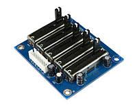 DIY Эквалайзер 5 полосный стерео модуль плата, фото 1