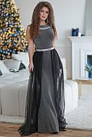 """Вечернее платье """"Софи"""" со съёмным шлейфом"""