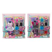 Наряд для куклы, наряд, сумочка, обувь, 2 вида, 3315-B-A