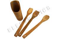 Кухонный набор из 3х лопаток (бамбук)