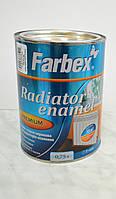 Эмаль стирол-акриловая  для радиаторов отопления Farbex 0,75 л