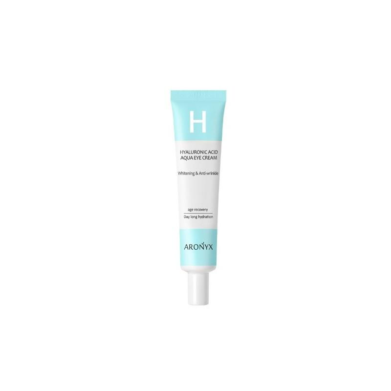 Крем для кожи вокруг глаз с гиалуроновой кислотой ARONYX HYALURONIC ACID AQUA EYE CREAM, 40мл.