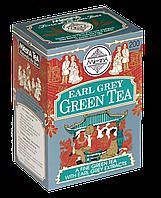 Зеленый чай с ароматом бергамота, EARL GREY GREEN TEA, Млесна (Mlesna) 200г.