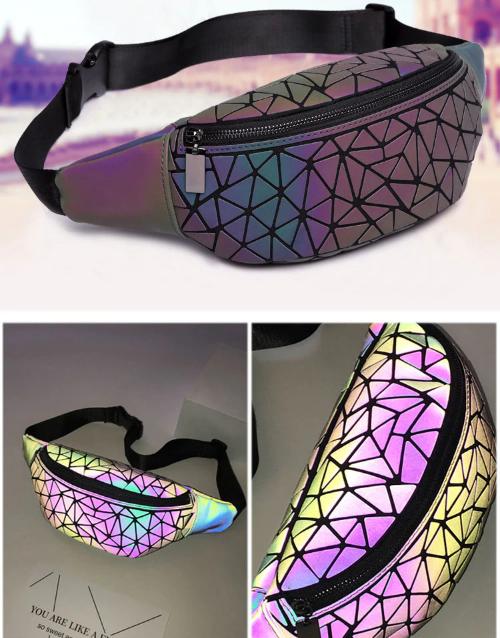Поясна сумка, бананка, з 100% світловідбиваючим ефектом!
