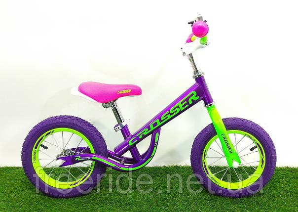 Детский беговел Crosser Balance Bike NEW 12, фото 2